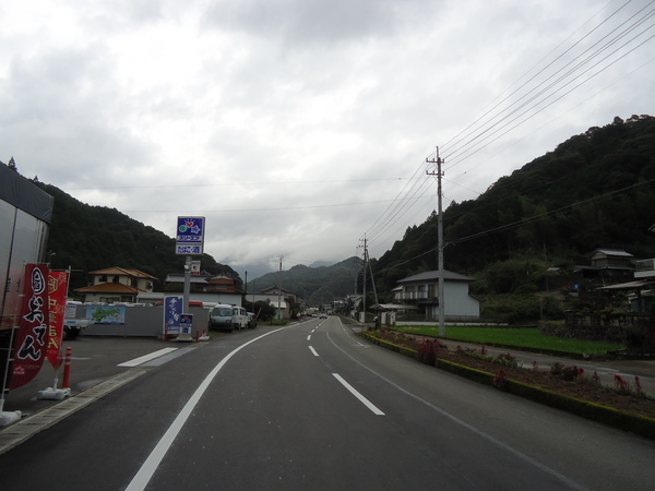 雨上がりの津野町